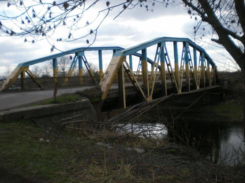 Міст через річку Солокію