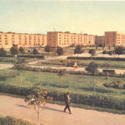 Жилі будинки по вулиці Парковій, 1969