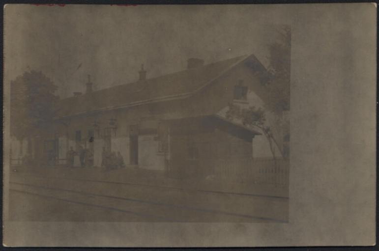 Bahnhof, 1917