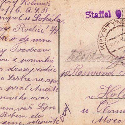 Krystynopol, 1918