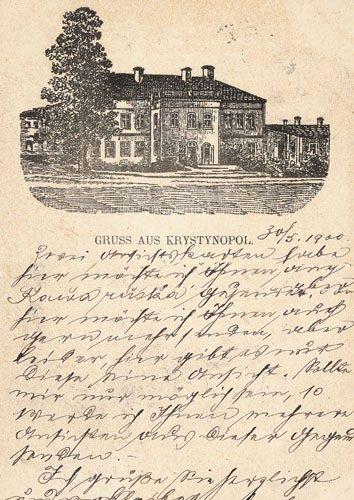 Krystynopol, 1900