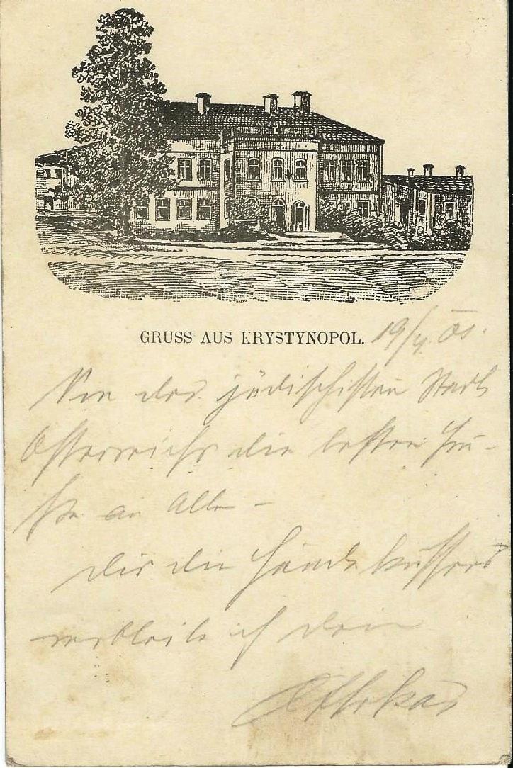 Krystynopol, 1901