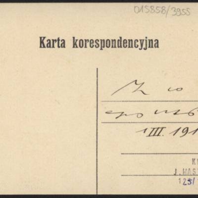 Krystynopol, 1912