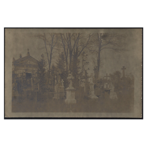 Katholischer Friedhof, 1917