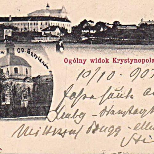 Ogolny widok Krystynopolu