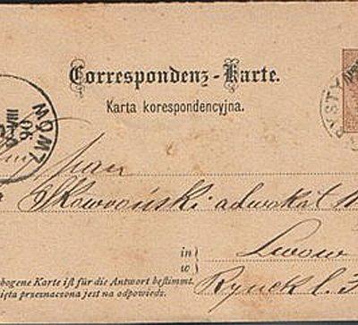 Кристинопіль-Львів, 1890