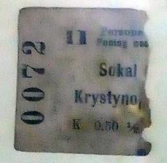Сокаль-Кристинопіль, 1906