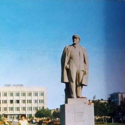 Пам'ятник Леніну. 1973