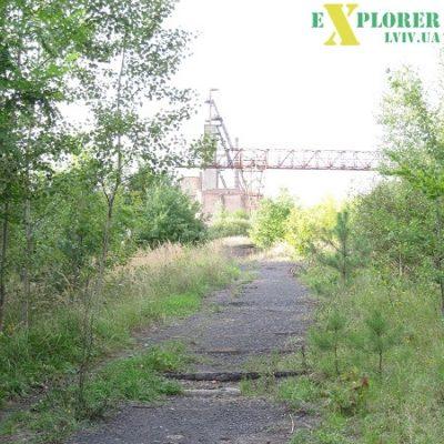 Залишки залізничної коліі до навантажувальної платформи, 2011 р.