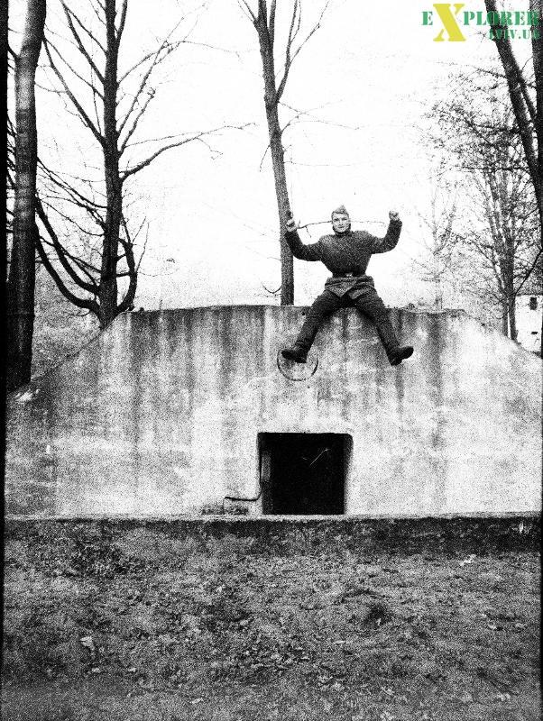 На бункері, с. Горбків.