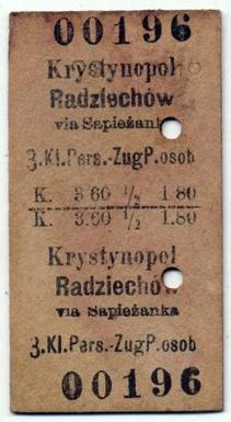 Кристинопіль-Радехів, 1918