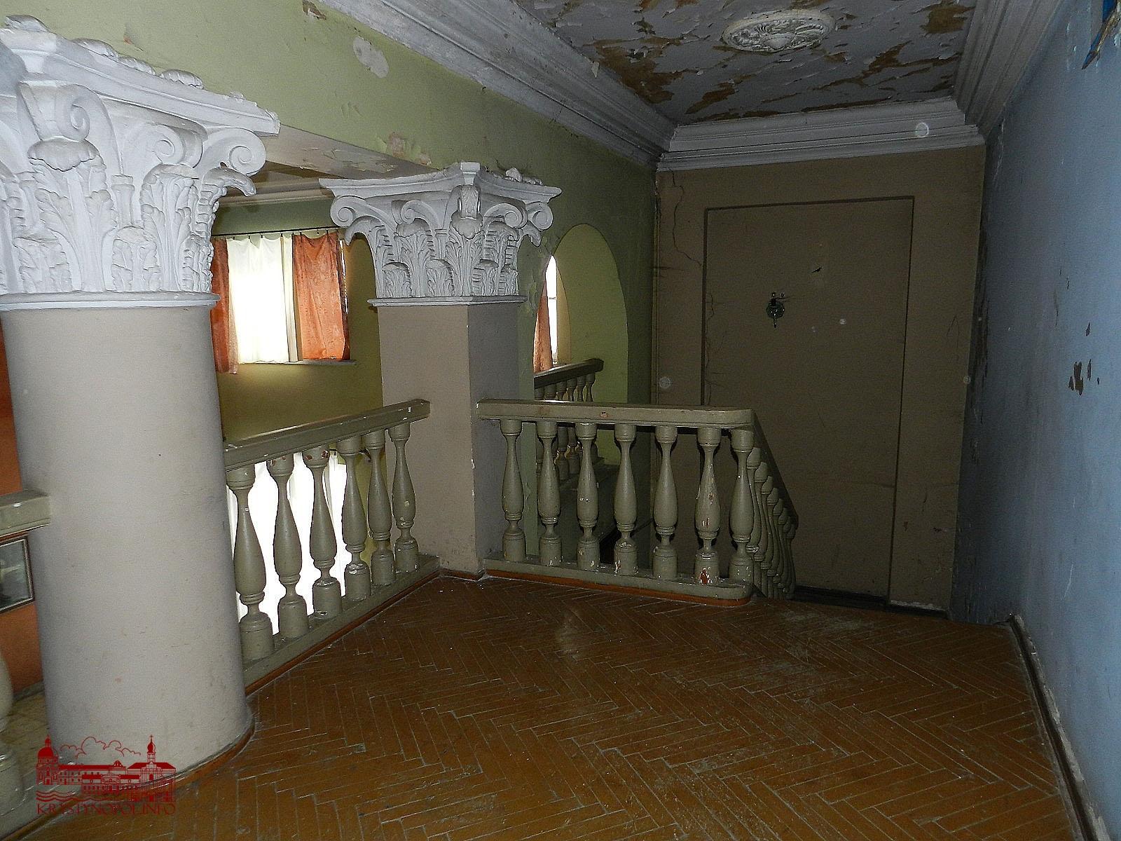 Другий поверх. Справа - приміщення буфету.