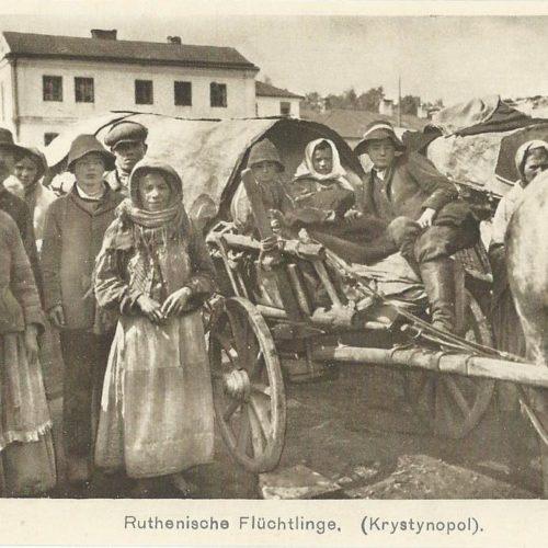 Русинські біженці. Кристинопіль. 1СВ
