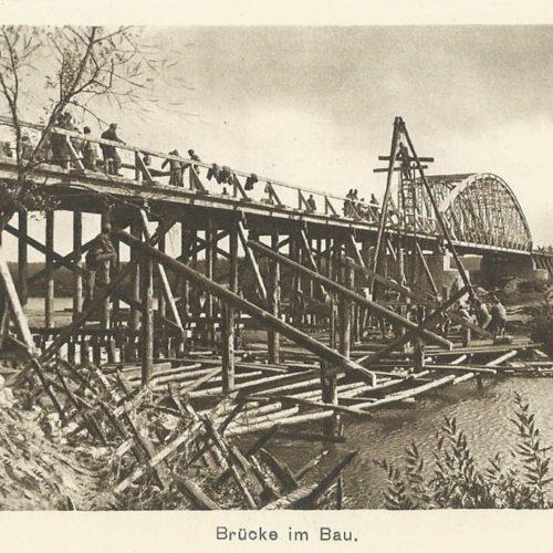Будівництво моста. Кристинопіль. 1СВ