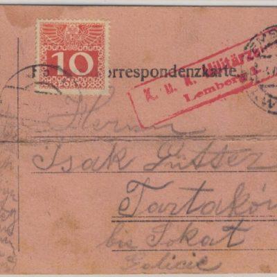 Львів-Тартаків, 1916