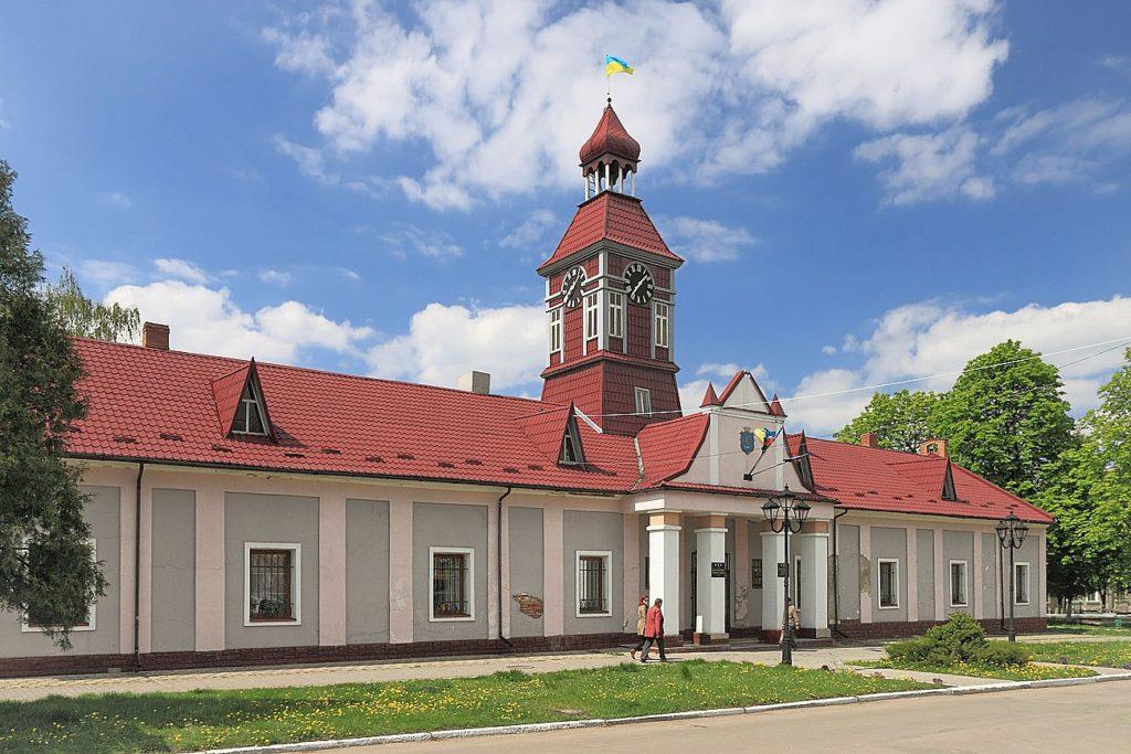 Міська ратуша у Сокалі