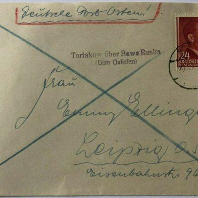 Тартаків-Лейпциг, Генерал-губернаторство