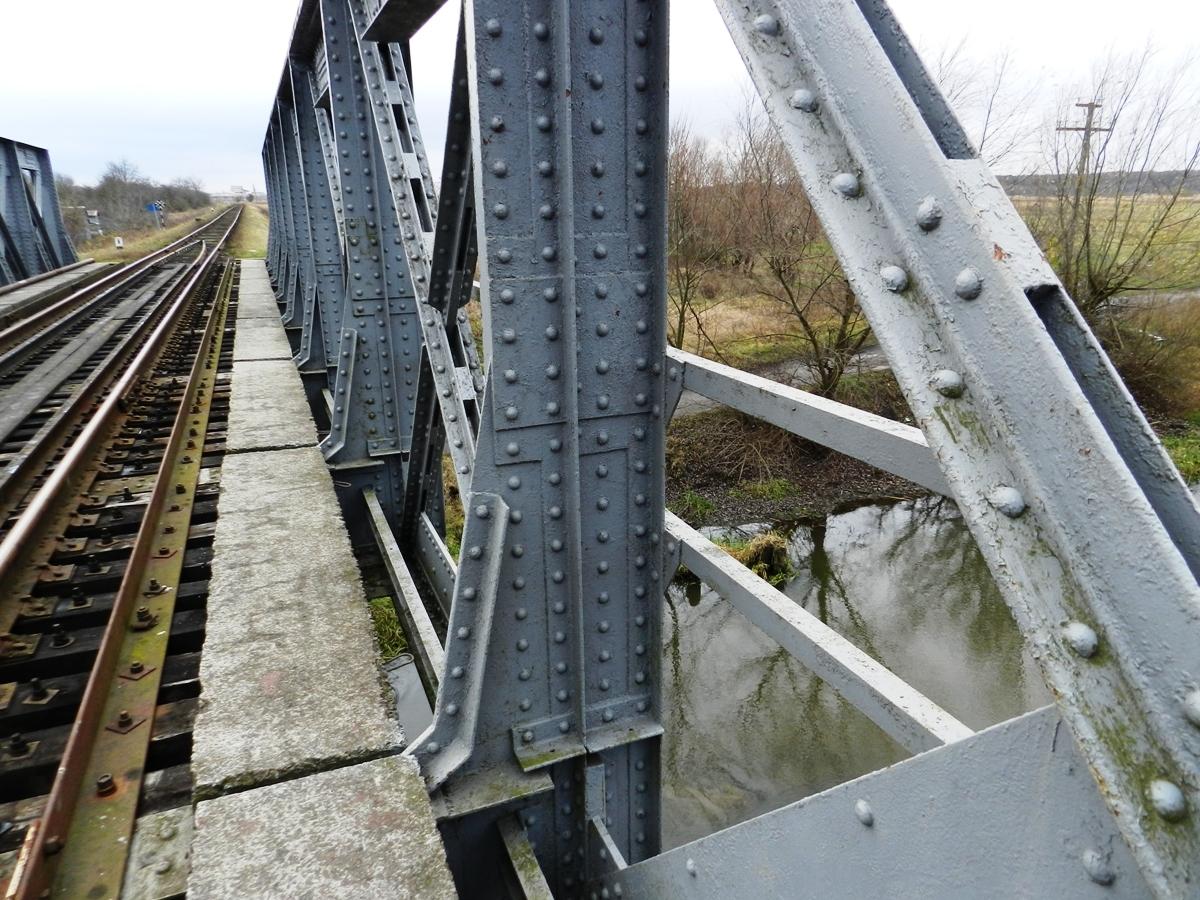 Залізничний міст через Солокію, 2019