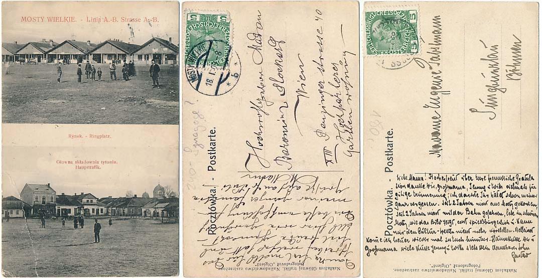 Великі Мости - Відень, 1909