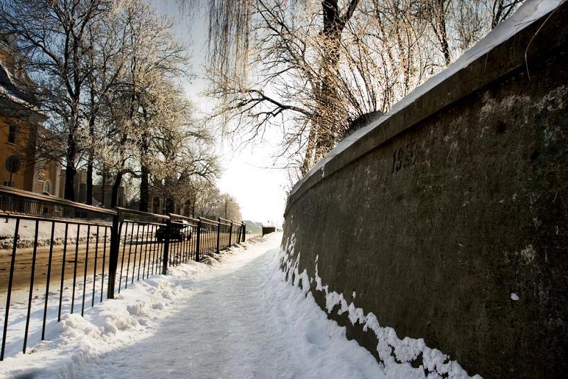 Підпорна стіна 1938 року