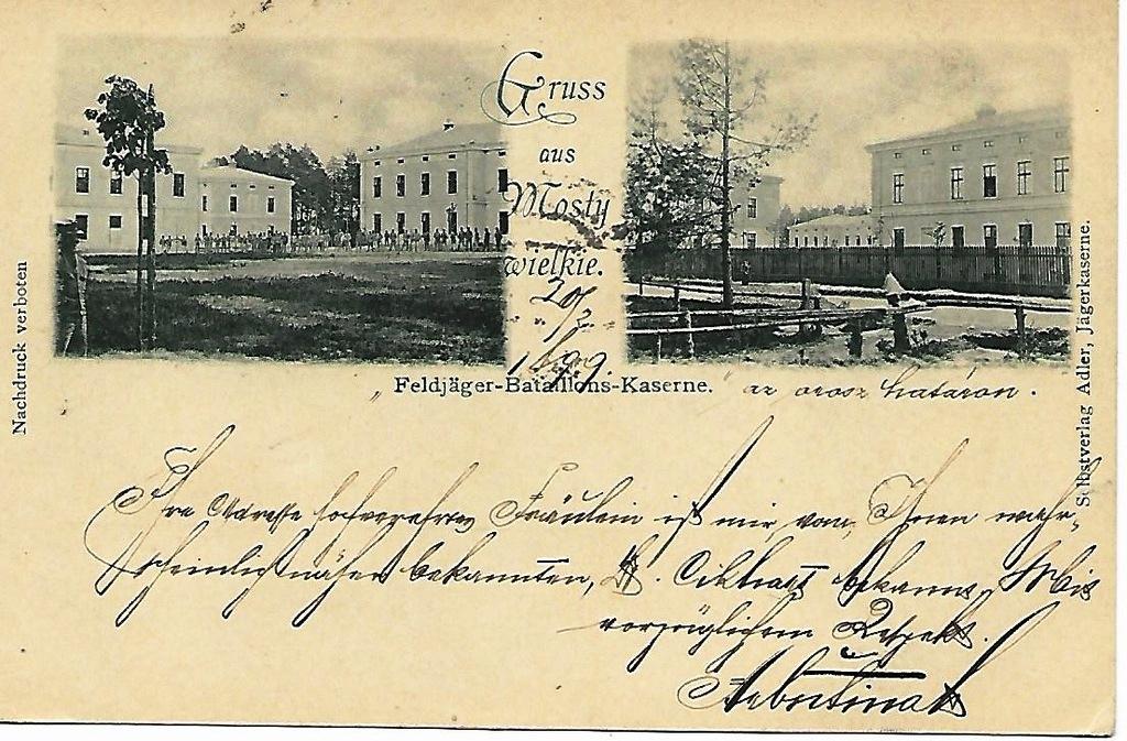 Великі Мости - Естергом, 1899
