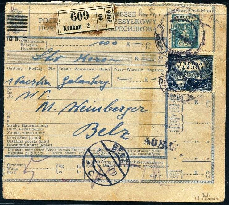 Краків-Белз. 1919