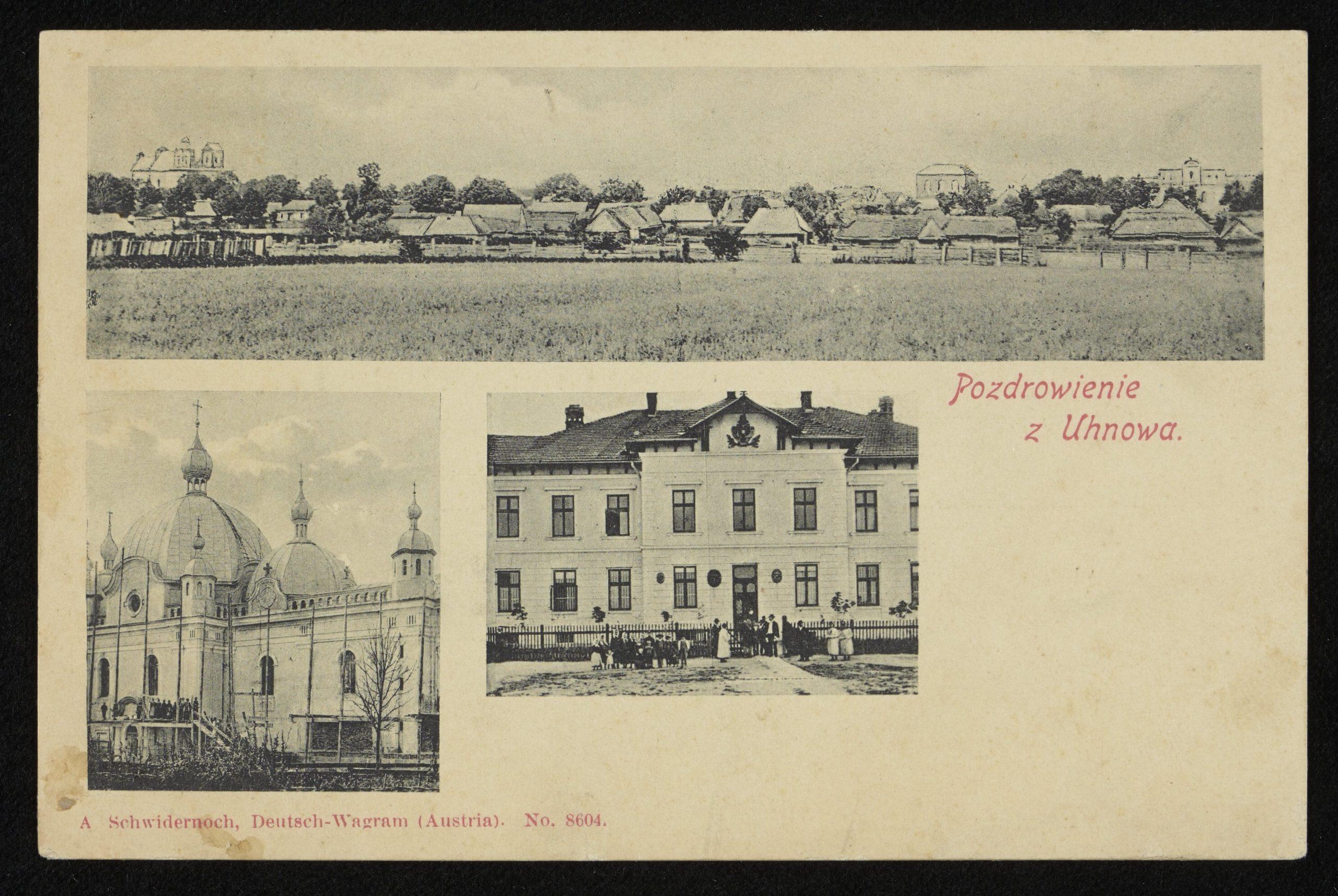 Угнів, 1906. www.polona.pl