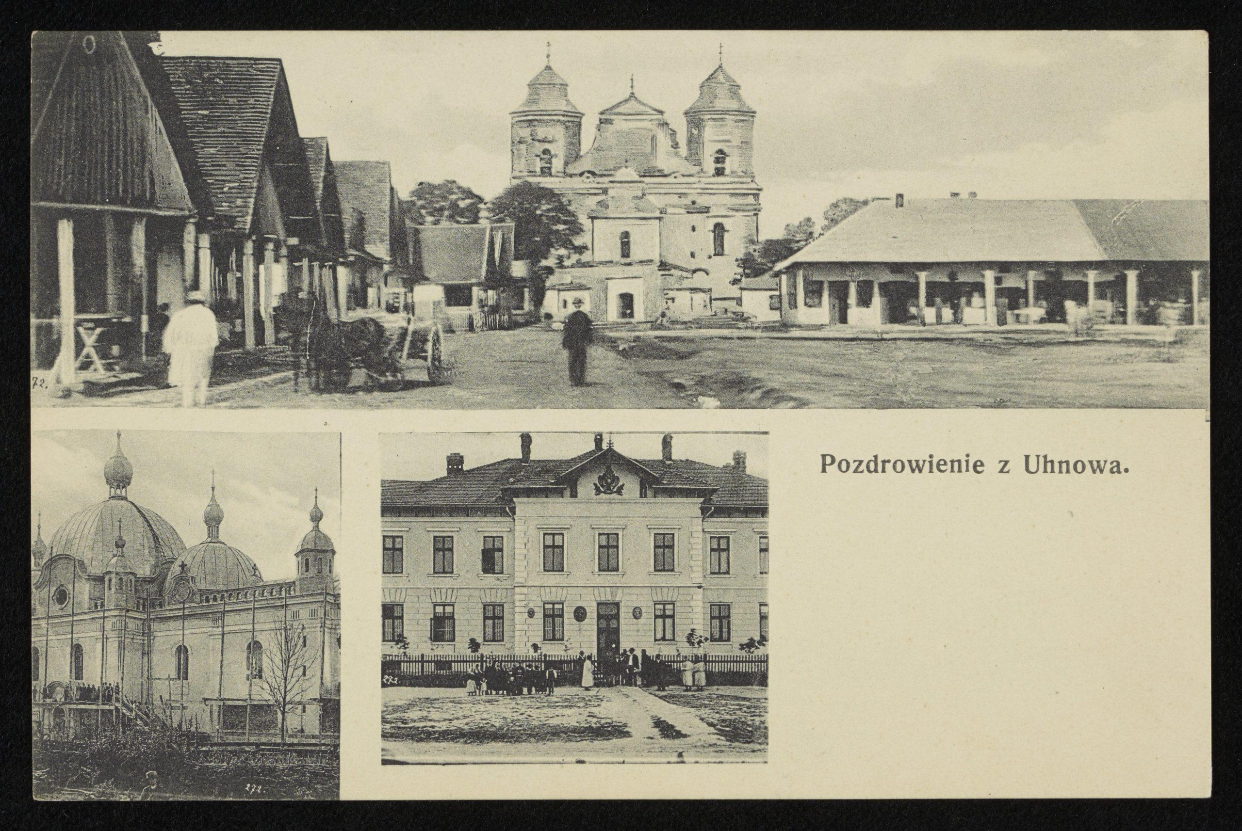 Угнів, 1907. www.polona.pl