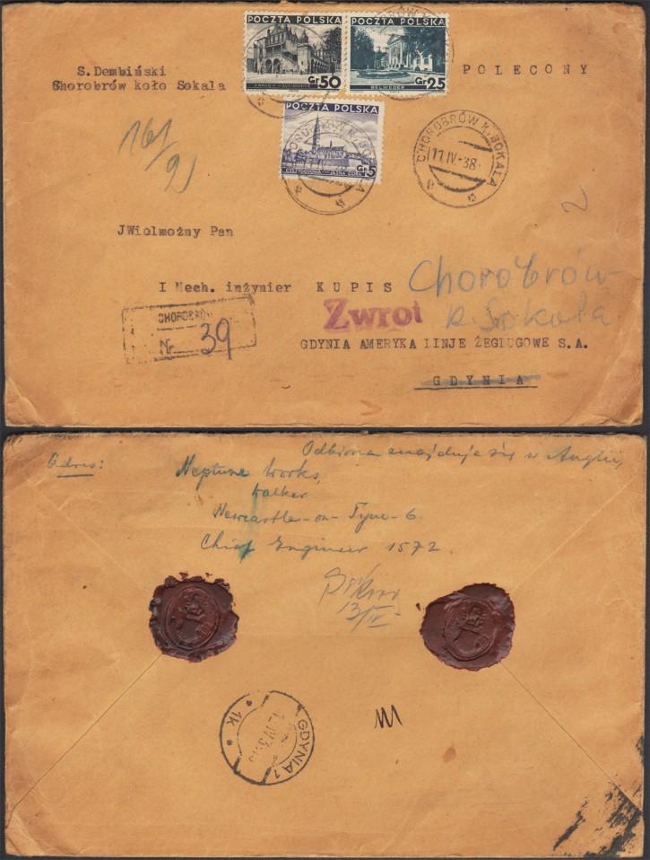 Хоробрів-Гдиня. 1938