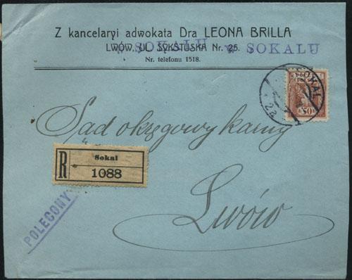 Сокаль-Львів. 1919