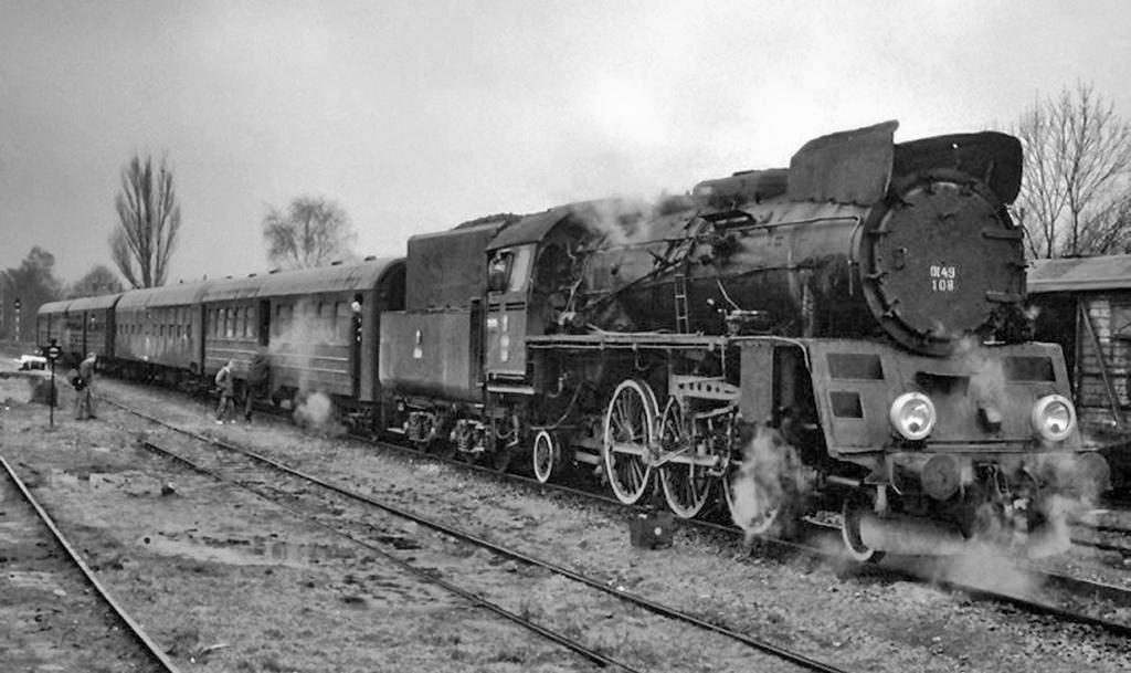 Потягом до Кристинополя у кінці XIX століття