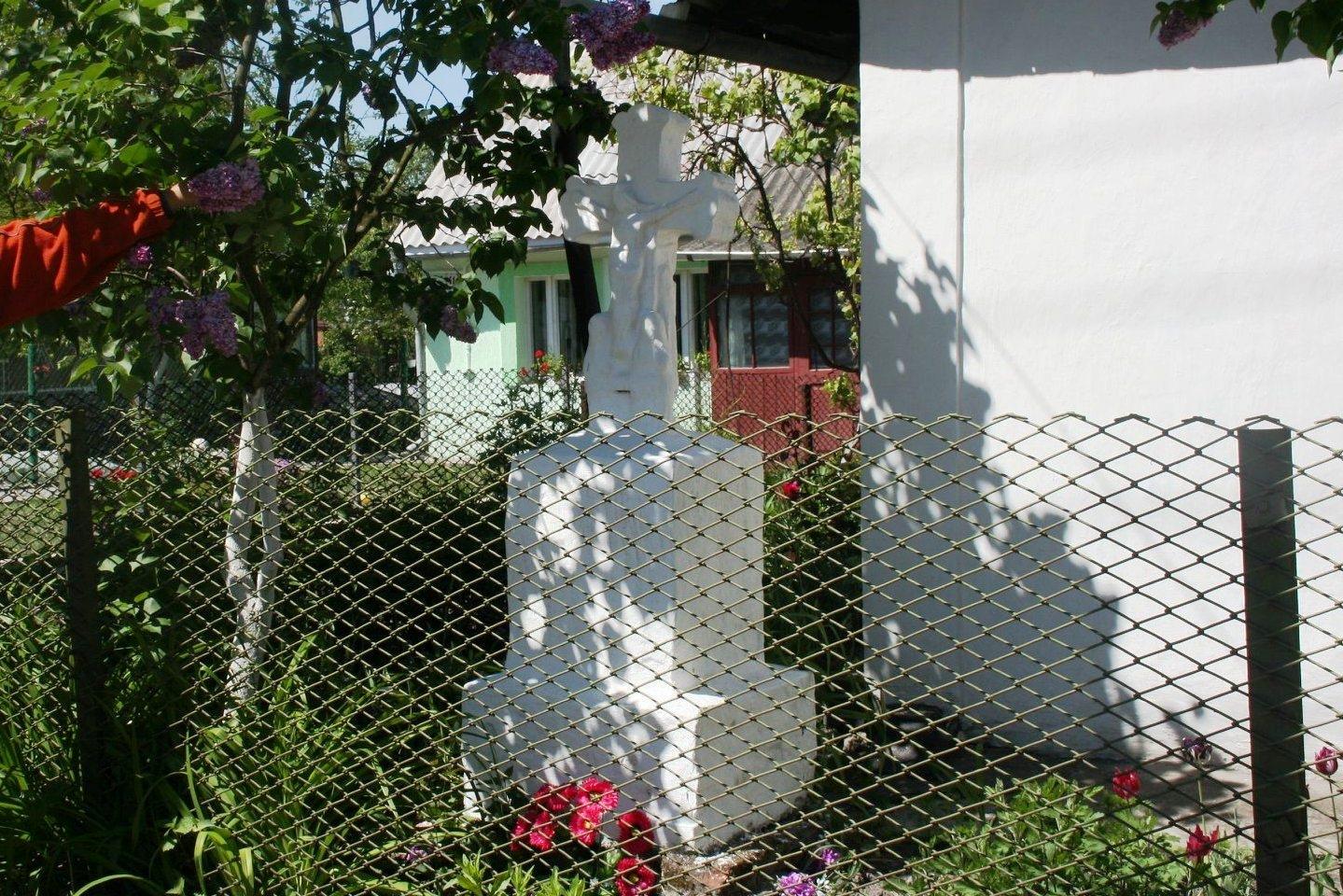 Придорожні хрести у місті Червонограді