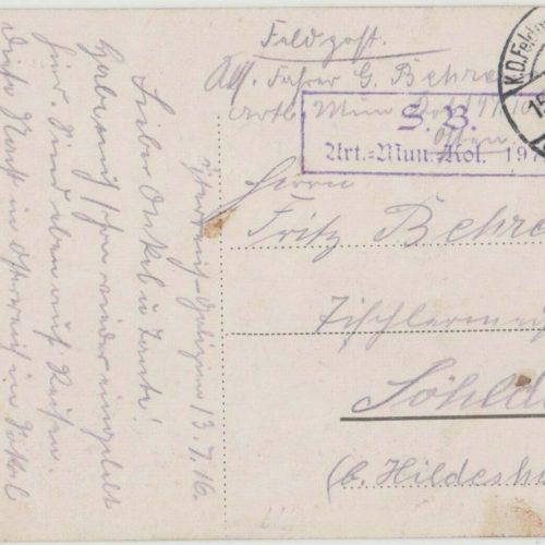 Сокаль 1916. Ощадна каса