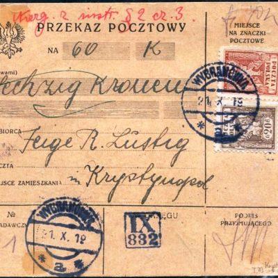 Вибранівка-Кристинопіль. 1919
