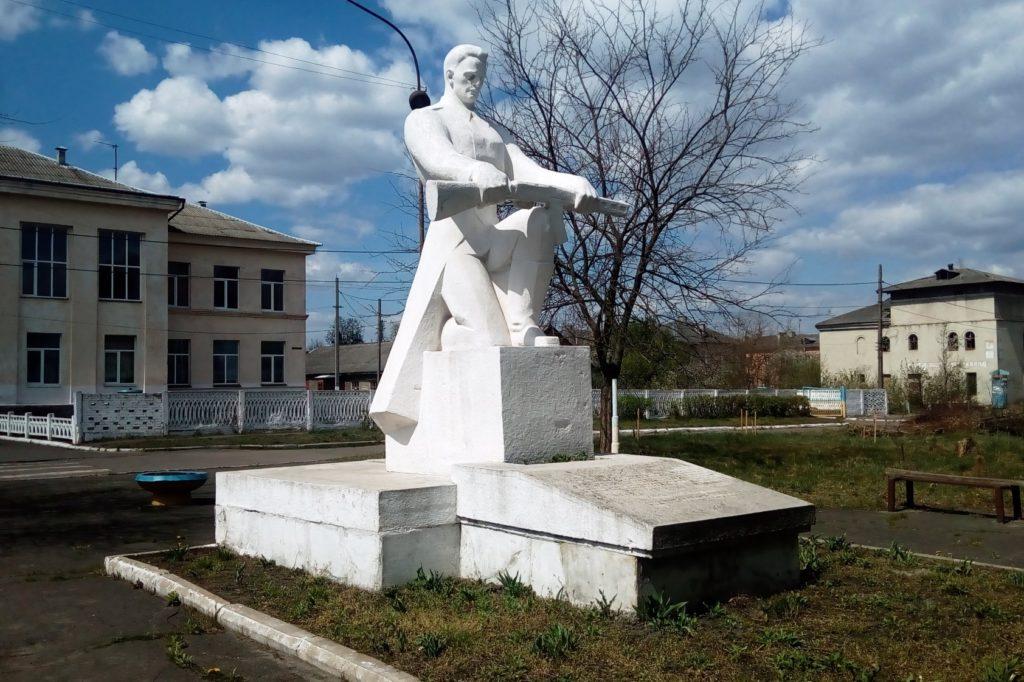 Братська могила радянських воїнів у Гірнику