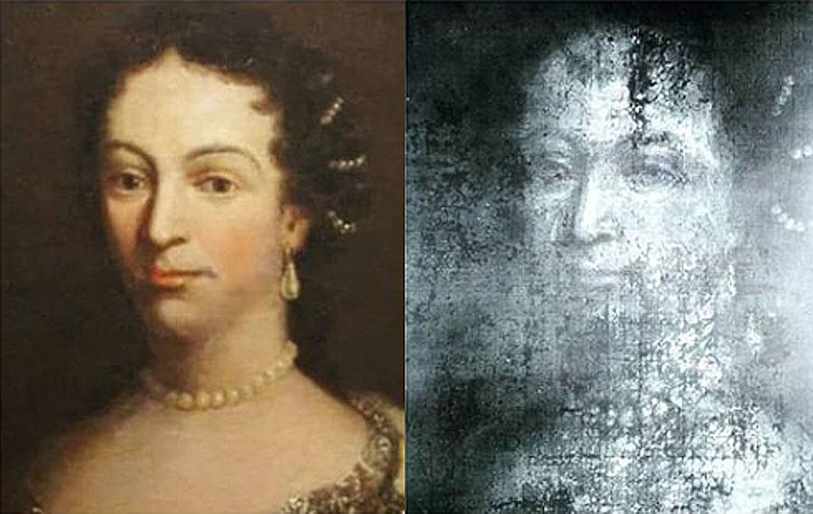 Портрет Кристини Любомирської приховує таємницю