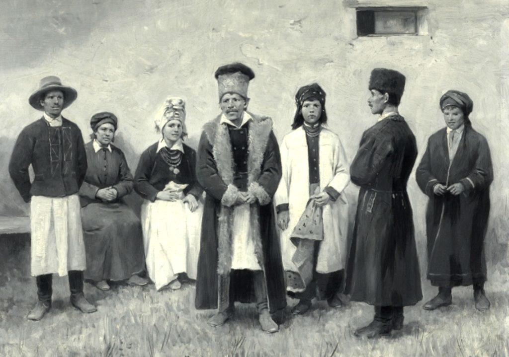 Давні фото мешканців Сокальщини