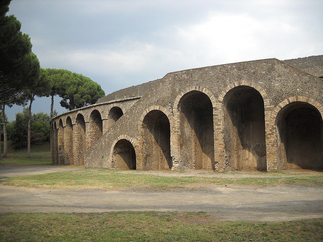 Чаша смерті в Помпеях